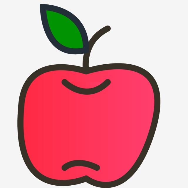 Feuilles Pomme Pomme Rouge Pomme De Dessin Anime Clipart Pomme Rouge Feuilles Pomme Fichier Png Et Psd Pour Le Telechargement Libre