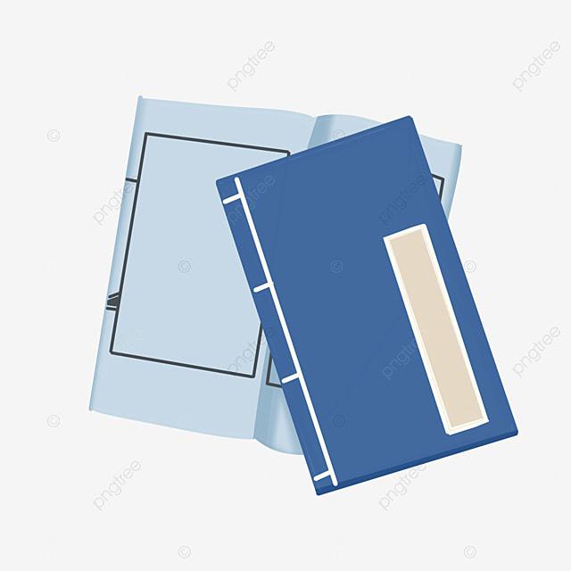 Livre Bleu Livres Retro Livre Ouvert Lecture Fournitures