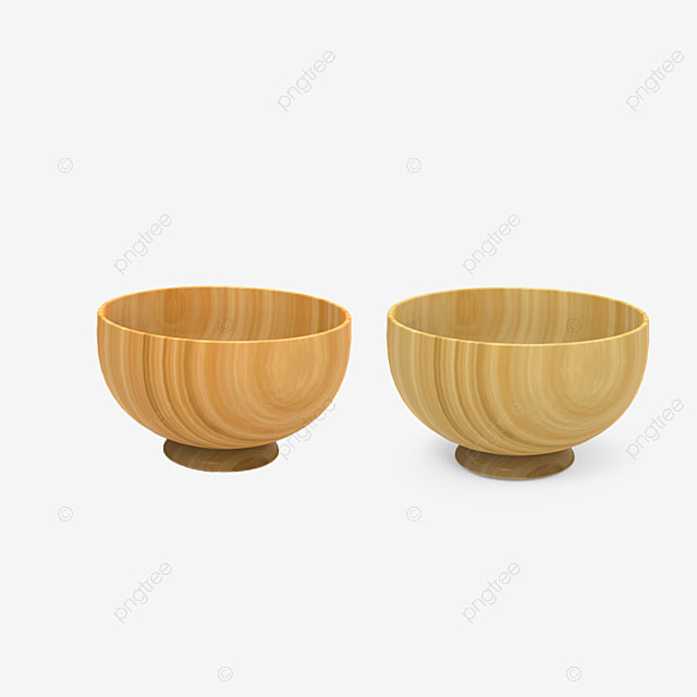 Wooden Bowl Cutlery Free Material Tableware Wooden Bowls Bowl