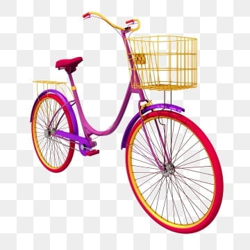Three dimensional exquisite women s bicycle png, Three-dimensional, Bicycle, Bicycle PNG and PSD