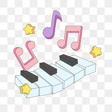 Piano Notes PNG Images | Vector and PSD Files | Free