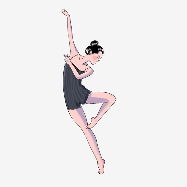 Ballerina clip art dancer ballet digital art scrapbook | Etsy | Clip art,  Ballet art, Baby illustration