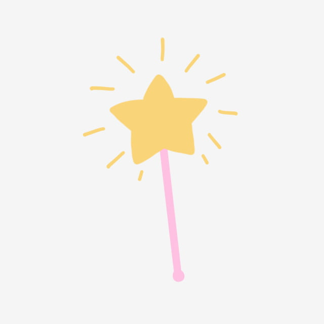Vector Illustration Of Golden Magic Wand Royalty Free Cliparts, Vectors,  And Stock Illustration. Image 22497124.