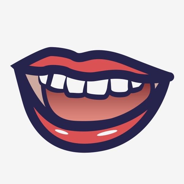 bouche langue dents dessin anim u00e9 langue bouche main