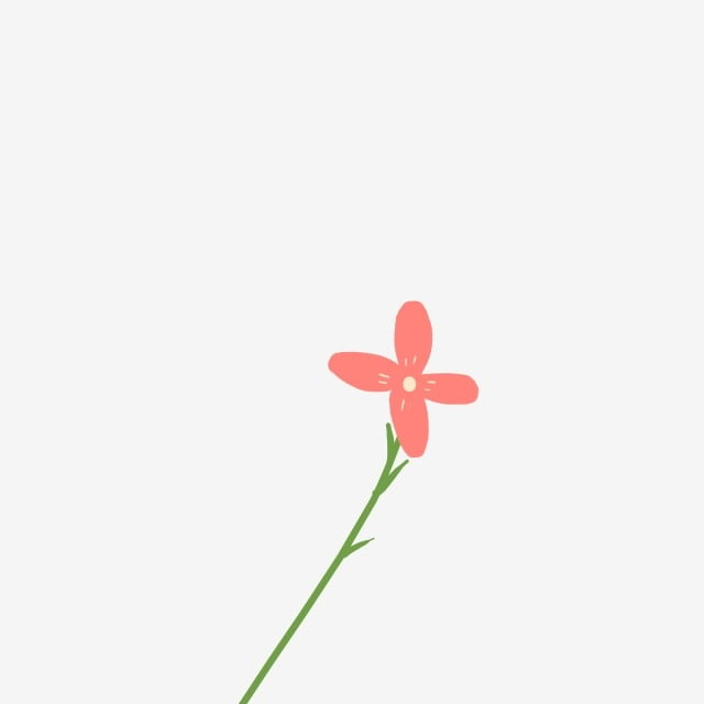 Bunga Bunga Kartun Cantik