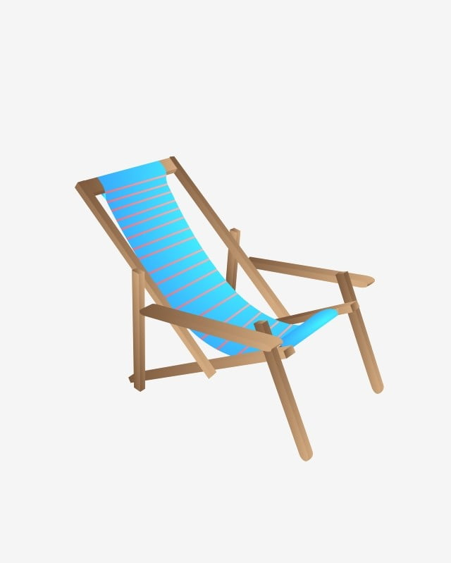 Astounding Original Seaside Blue Striped Lounge Chair Blue And White Caraccident5 Cool Chair Designs And Ideas Caraccident5Info