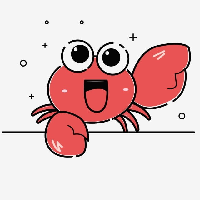Red Cute Crab Emoticon Pack Small Crab Romantic Crab Big Eyes Png And Vector With Transparent Background For Free Download Great news!!!you're in the right place for cute crab. red cute crab emoticon pack small crab