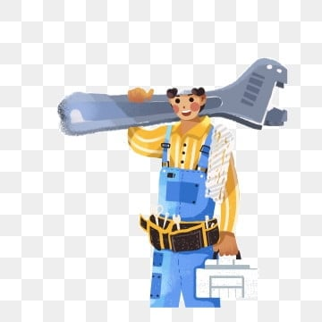 worker tool man a, Holding, Man, Worker PNG и PSD