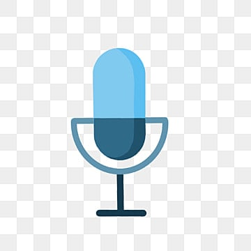 Blue Microphone PNG Images   Vector and PSD Files   Free