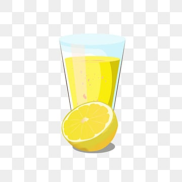 Lemonade Glass Png, Vector, PSD, and Clipart With