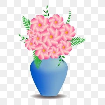 เวกเตอร์ฟรีหัวเข็มขัดดอกไม้สีชมพูสีน้ำเงินแจกัน, ภาพตัดปะแจกัน, เวกเตอร์, ฟรีหัวเข็มขัด รูปภาพวัสดุPNG และ เวกเตอร์