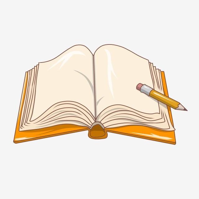 كتاب كتاب رسم توضيحي كتاب رسوم متحركة ورق فارغ كتاب كتاب مفتوح Png وملف Psd للتحميل مجانا
