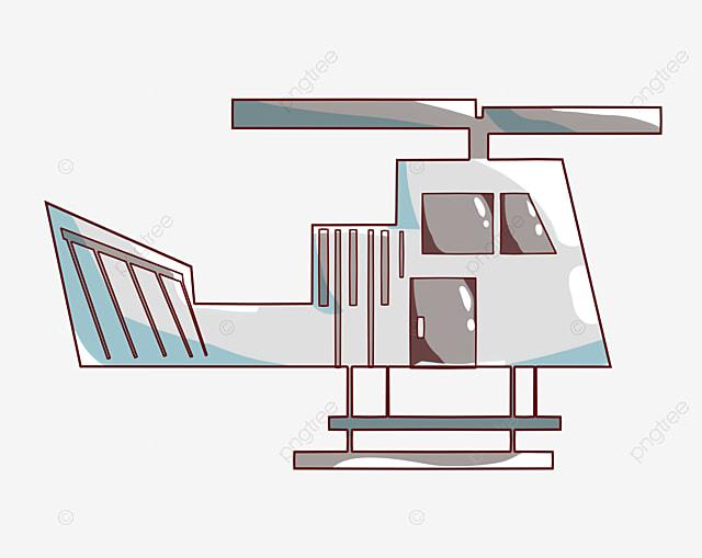 Helikopter Helikopter Perak Helikopter Kartun Helikopter