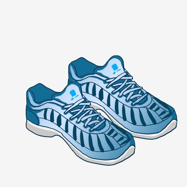 Blue Sneakers Beautiful Sneakers Creative Sneakers Sneakers ...