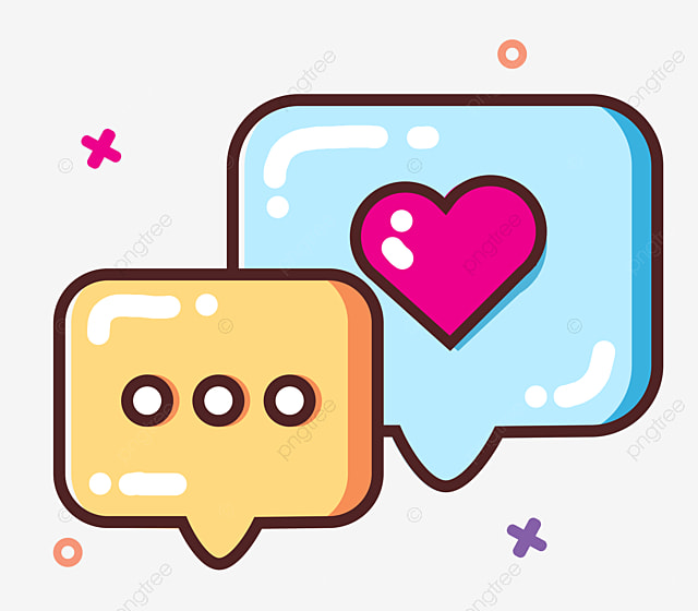 Cartoon Chat Information Chat Message Blue Chat Bubble Png Transparent Clipart Image And Psd File For Free Download