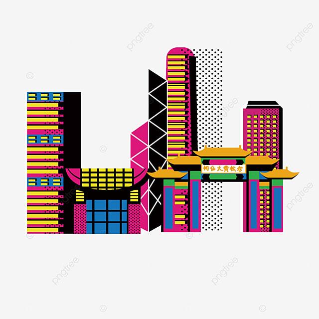 Gambar Kartun Berwarna Bangunan Tinggi Peta Gratis Kartun Gedung Tinggi Bangunan Malam Warna Kartun Png Transparan Clipart Dan File Psd Untuk Unduh Gratis