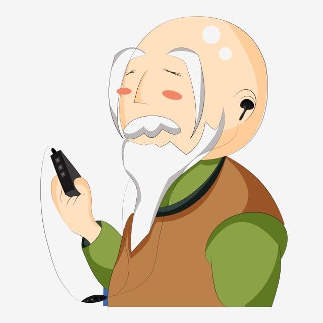 91 Foto Gambar Kartun Orang Tua Paling Keren