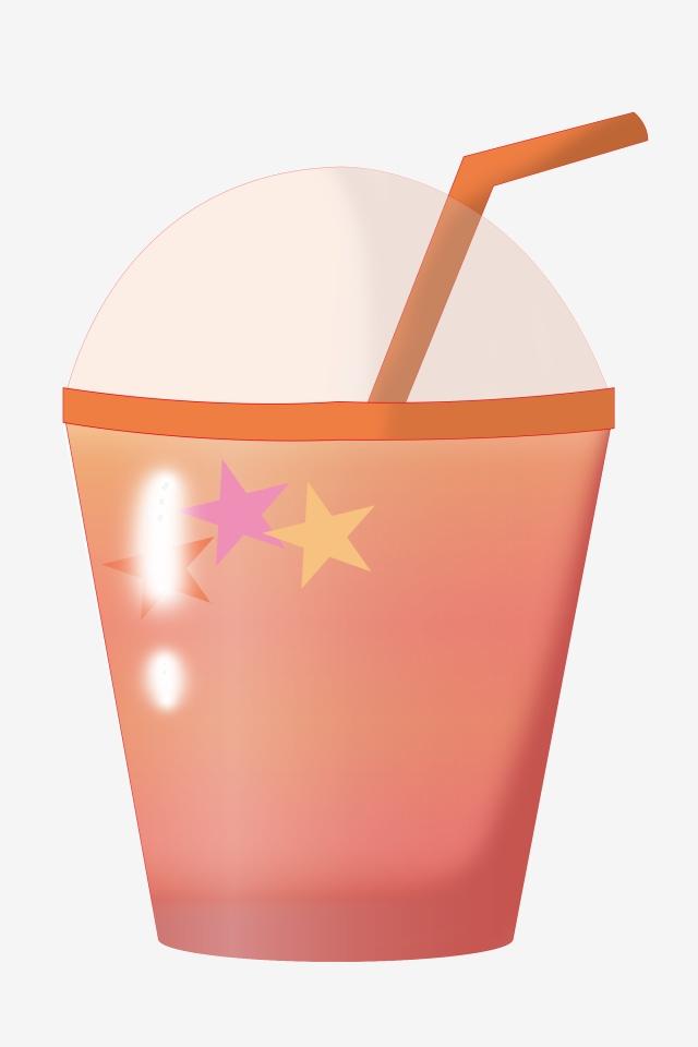 Minum Cawan Merah Jambu Ilustrasi Minuman Ilustrasi Makanan Ringan