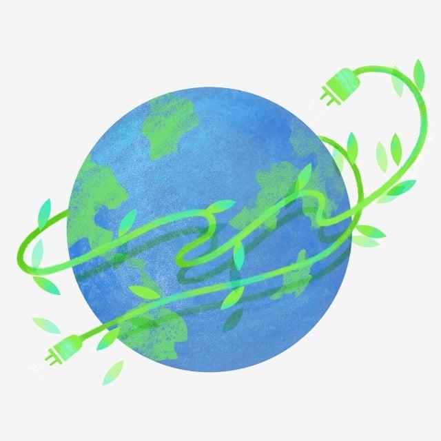 ساعة الأرض البالون الأخضر الأوراق الخضراء زخرفة النباتات الأرض إطفاء الأنوار لمدة ساعة Png وملف Psd للتحميل مجانا