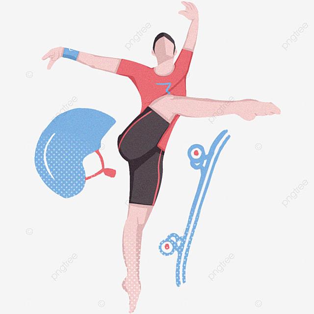 gadis dan topi senam ilustrasi olahraga kebugaran topi biru skateboard biru png transparan gambar clipart dan file psd untuk unduh gratis gadis dan topi senam ilustrasi