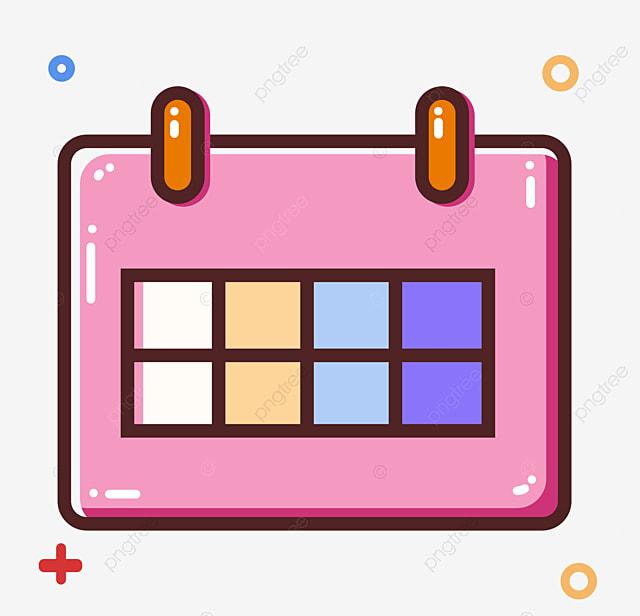 Calendario Rosa Png.Pink Hanging Calendar Calendar Pink Square Png