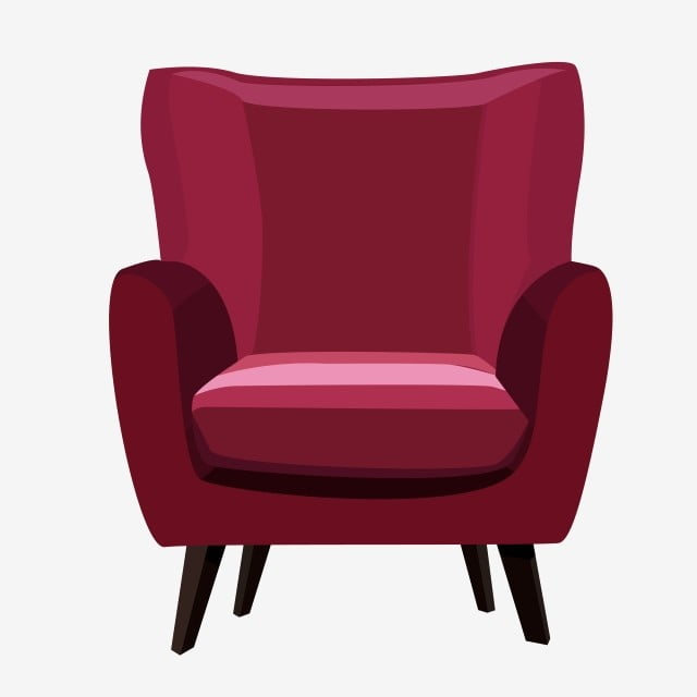 Super Red Single Sofa Fuchsia Armchair Front Png Transparent Home Interior And Landscaping Ologienasavecom