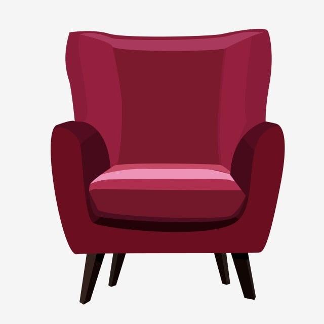 Amazing Red Single Sofa Fuchsia Armchair Front Png Transparent Home Interior And Landscaping Mentranervesignezvosmurscom