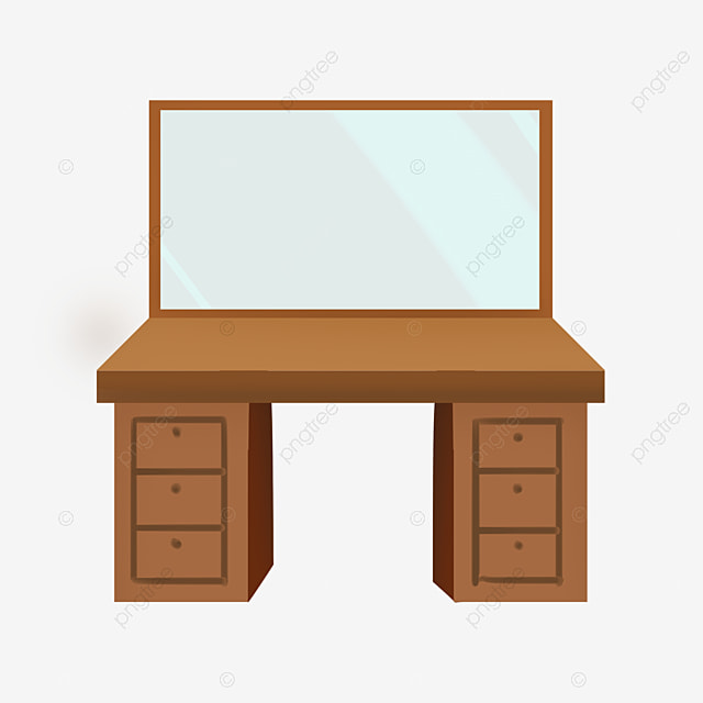 Wooden Brown Dressing Table, Dressing Table, Makeup, Tools ...