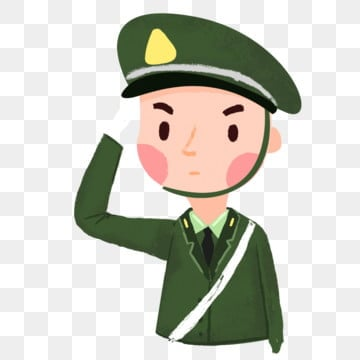 Soldier Cartoon PNG Images | Vector and PSD Files | Free