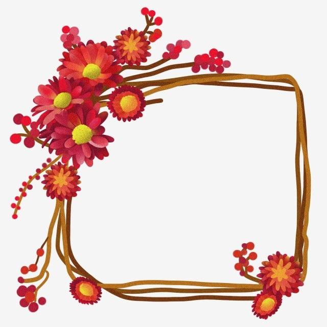 Bunga Yang Indah Karangan Bunga Cantik Ilustrasi Kartun