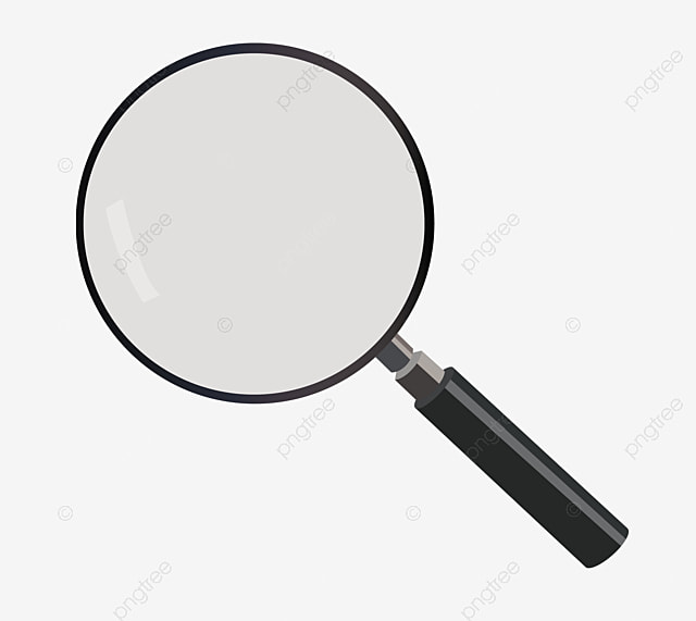 Magnifying Glass Cartoon Png Vector Psd And Clipart