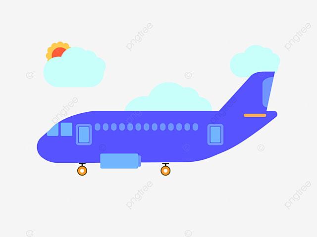 Civil Illustration Cartoon Aircraft Aircraft