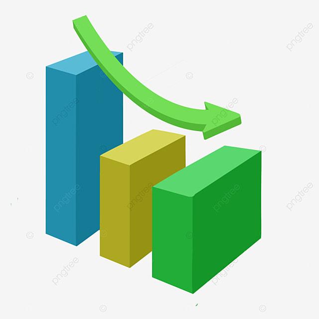Green PPT Analysis Chart Illustration, Green Column, Cartoon