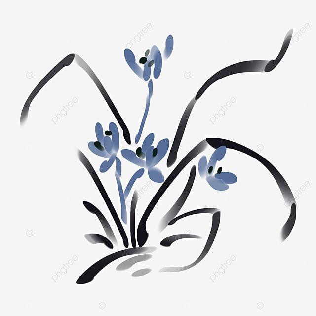 Lukisan Gambar Bunga Orkid Cikimm Com