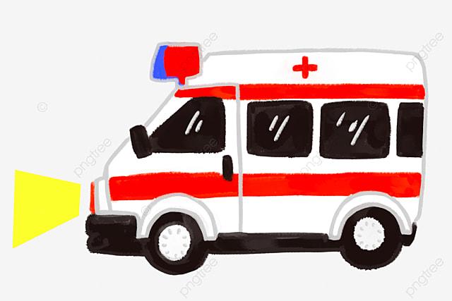 Ambulance Illustration De Dessin Anime Illustration Medicale Sante Publique Ambulance Illustration Equipement Medical Fichier Png Et Psd Pour Le Telechargement Libre
