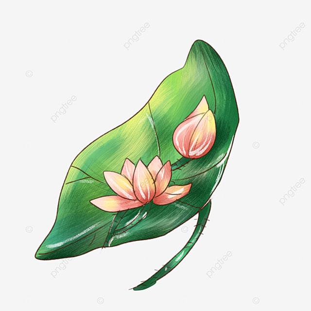 Tibetan Flower Cartoon Illustration Tibetan Lotus Pink Lotus