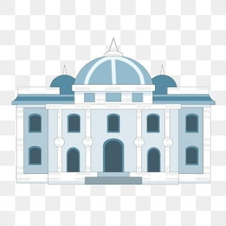 Exquisite three dimensional castle illustration, Exquisite Castle, Three-dimensional Castle, Buildings PNG and PSD