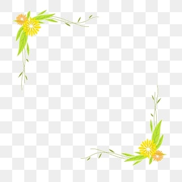 Yellow Flower Wreath Png Images Vector And Psd Files