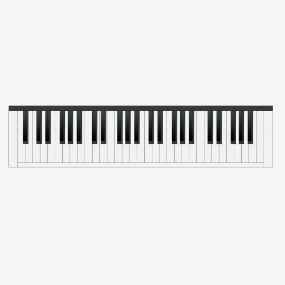 Black And White Piano Keyboard Illustration Black And White Piano Piano Keys Png Transparent Clipart Image And Psd File For Free Download