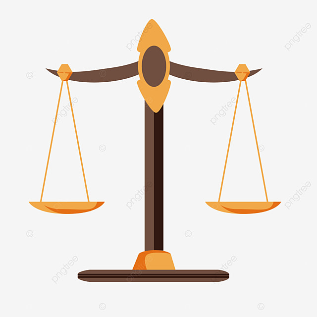 Legal Balance Scale Law Clipart Scales Of Law Golden Png And Vector With Transparent Background For Free Download