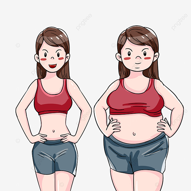 Women S Weight Loss Comparison Chart Slimming Lose Weight Shape Png Transparent Clipart Image And Psd File For Free Download
