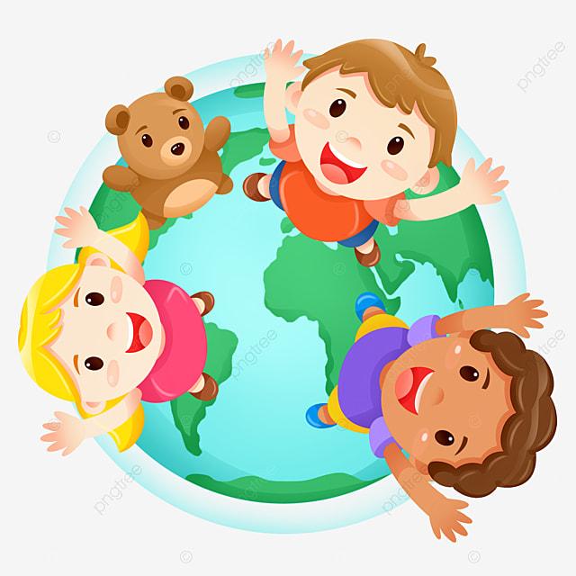 Prendre Soin Des Enfants Clipart Enfants Journee Mondiale Des Enfants Prendre Soin Des Enfants Handicapes Fichier Png Et Psd Pour Le Telechargement Libre