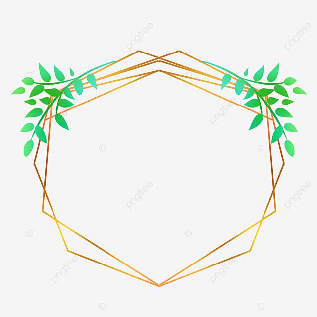 bingkai garis emas hijau daun daun baris png transparan gambar clipart dan file psd untuk unduh gratis https id pngtree com freepng line gold frame 5406867 html