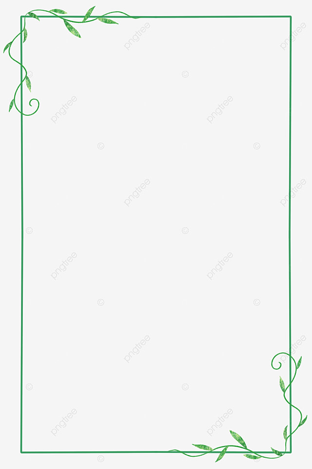 spring green plant border frame green green border png transparent clipart image and psd file for free download pngtree