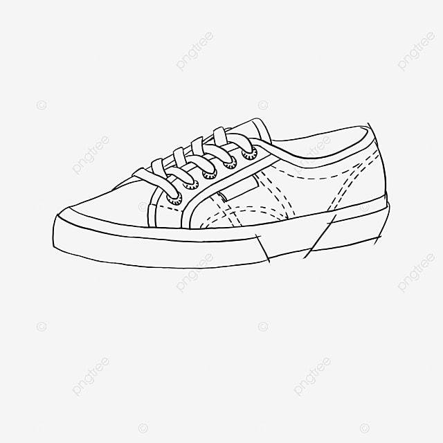 Garis Hitam Dan Putih Menggambar Bahan Dekorasi Sepatu Siluet Ikon Kartun Lucu Ikon Kartun Sepatu Kanvas Kreativitas Png Transparan Gambar Clipart Dan File Psd Untuk Unduh Gratis