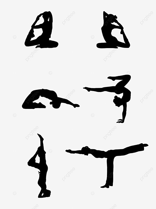 Female Yoga Fitness Silhouette Design Element Female Female Silhouette Silhouette Png Transparent Clipart Image And Psd File For Free Download