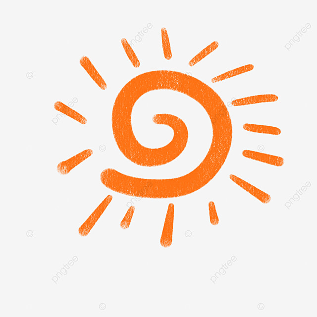 Orange Spiral Sun Free Download Matahari Anime Little Sun Kartun Matahari Png Transparan Gambar Clipart Dan File Psd Untuk Unduh Gratis