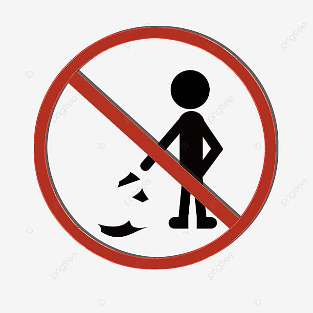 Melarang Ikon Membuang Sampah Sembarangan Ikon Sampah Ilustrasi Kartun Ikon Ilustrator Png Transparan Gambar Clipart Dan File Psd Untuk Unduh Gratis