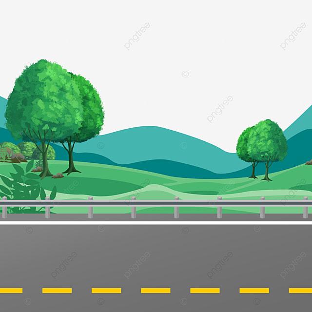 Gambar Ilustrasi Kartun Jalan Raya Jalan Aspal Ilustrasi Kartun Ilustrasi Lebuh Raya Png Dan Psd Untuk Muat Turun Percuma