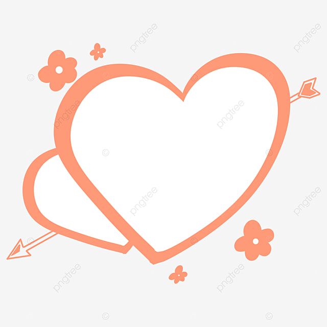 Valentines Day Red Line Arrow Through The Heart Sweet Love Peach Heart Border Vector Material Valentine S Day Red Heart Shaped Png Transparent Clipart Image And Psd File For Free Download